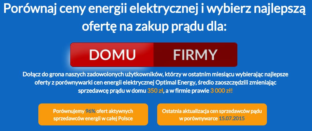 optimal energy - strona główna