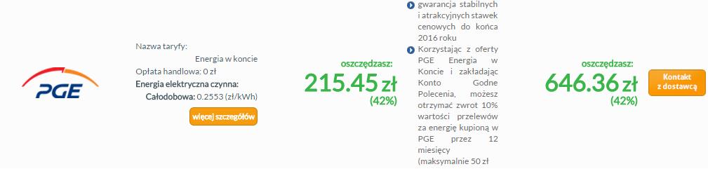 Optimal Energy - promocja PGE