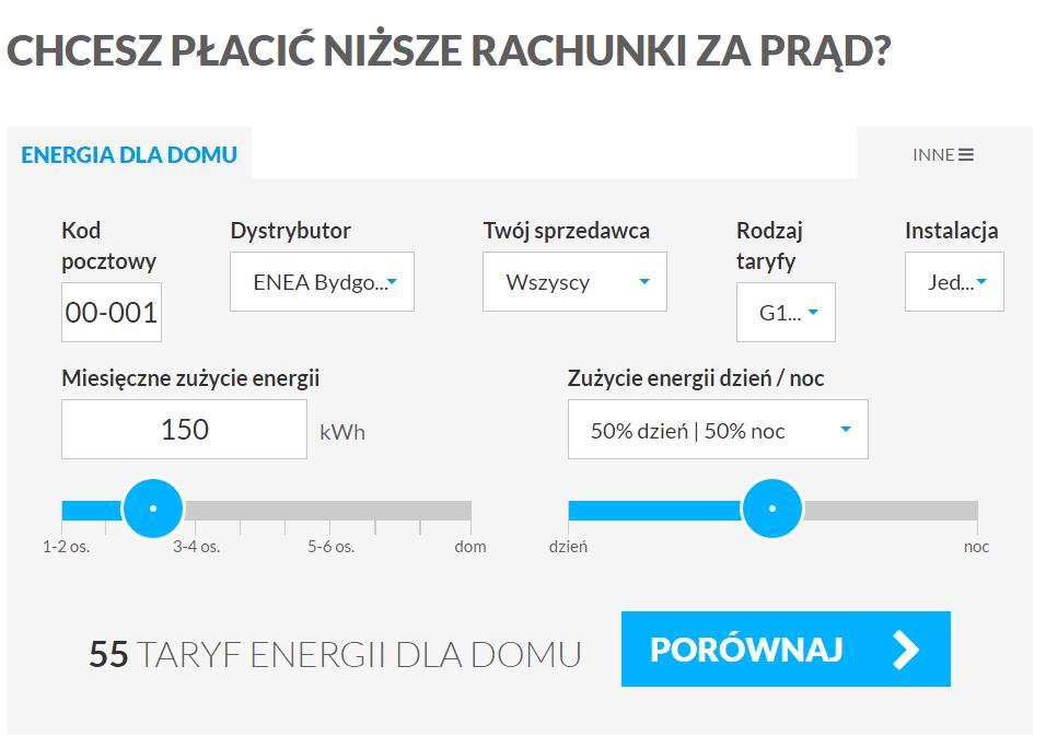 totalmoney.pl - mini porównywarka