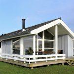 Nowoczesny dom, który korzysta z rozwiazania Enea smart